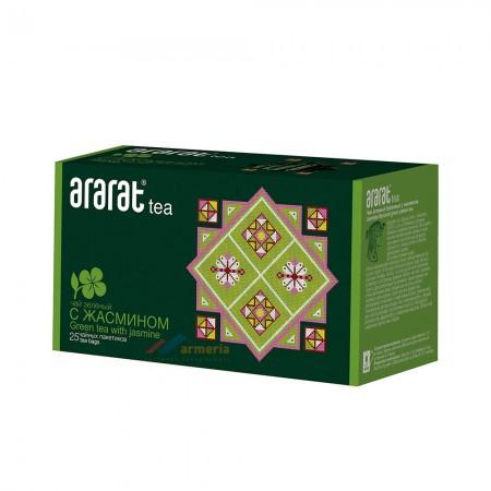 Чай Зеленый Байховый с Жасмином Арарат - купить с доставкой в Домодедово