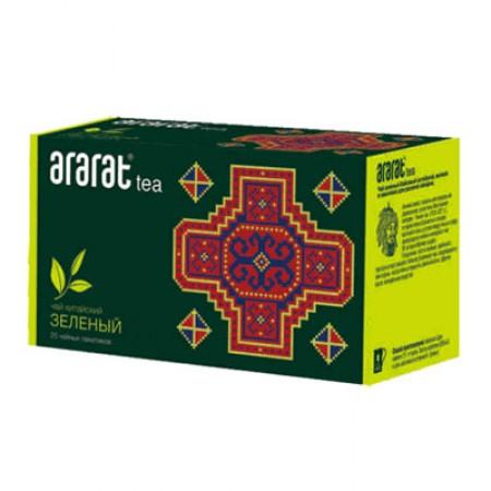 Чай Зеленый Байховый с мятой Арарат - купить с доставкой в Домодедово