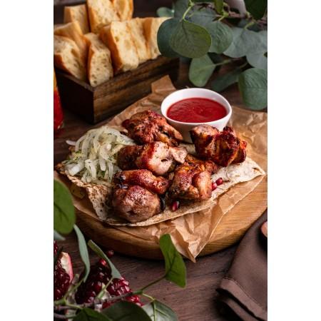 Шашлык свинина-шейка - купить с доставкой в Домодедово