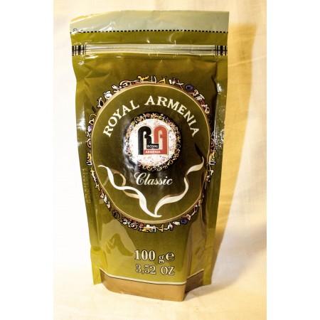 Кофе жареный молотый royal armenia зеленый - купить с доставкой в Домодедово