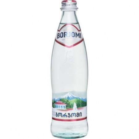 Вода Боржоми стекло, газ - купить с доставкой в Домодедово