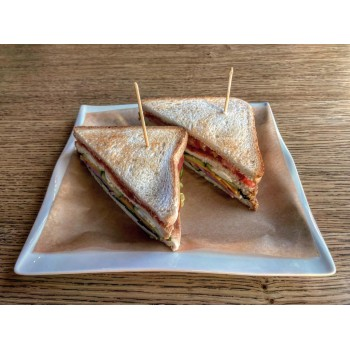 Клаб-сендвич с ветчиной