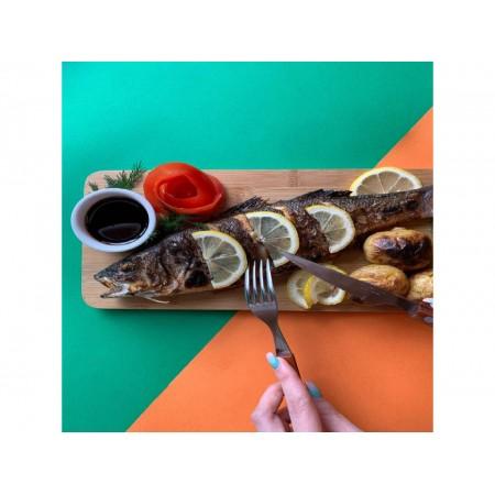 Сибас на мангале