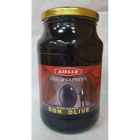 """Черные маслины """"AIELLO"""" - купить с доставкой в Домодедово"""
